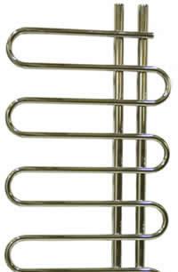 termosifone per bagno tubolare di design