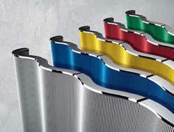 termosifoni a piastra di design radianti colorati